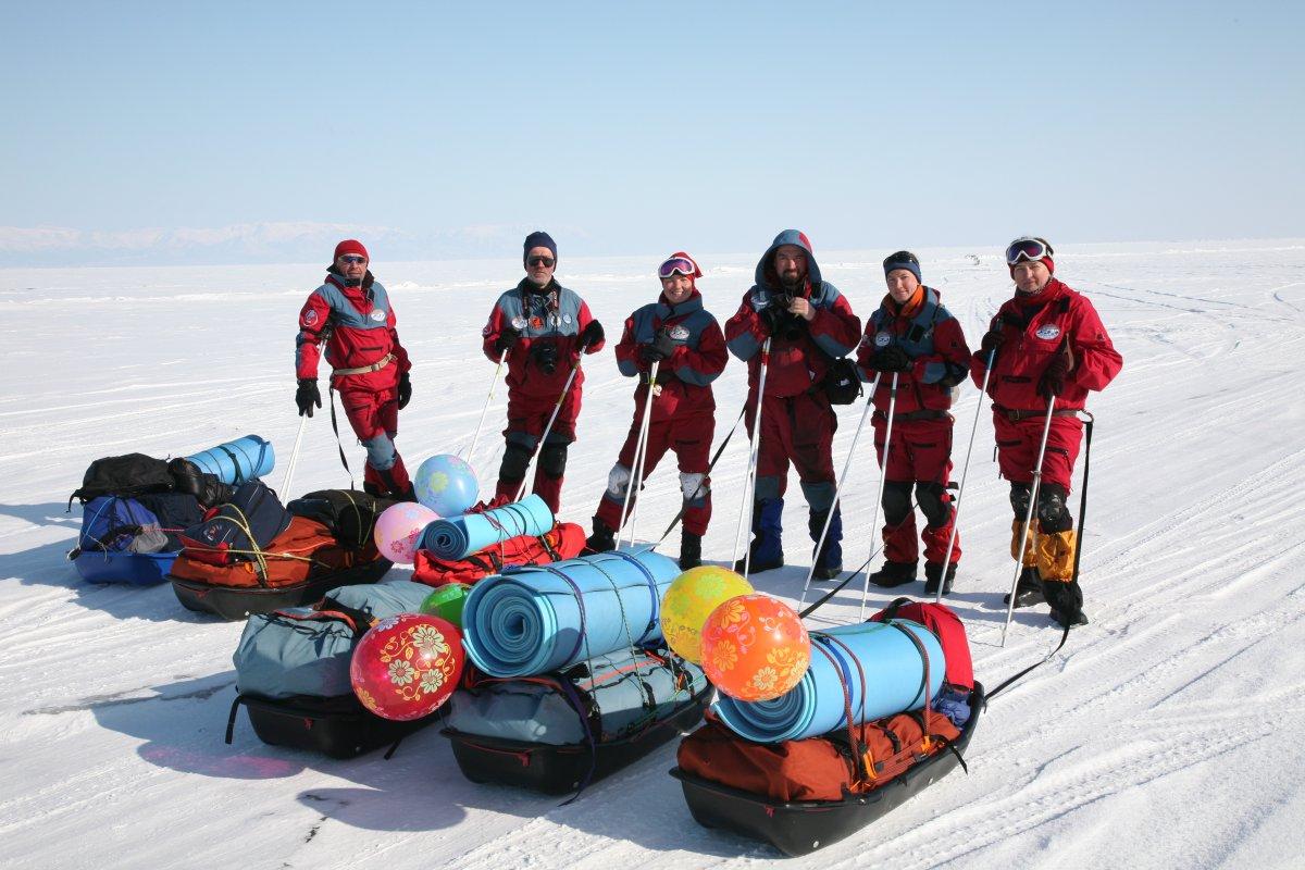 Сани-волокуши Век с мешком Арктика 150л